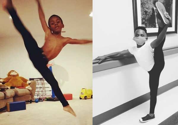 Maximus dança desde os 2 anos Foto: Instagram