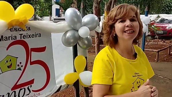Silvana, fundadora da escola - Foto: divulgação