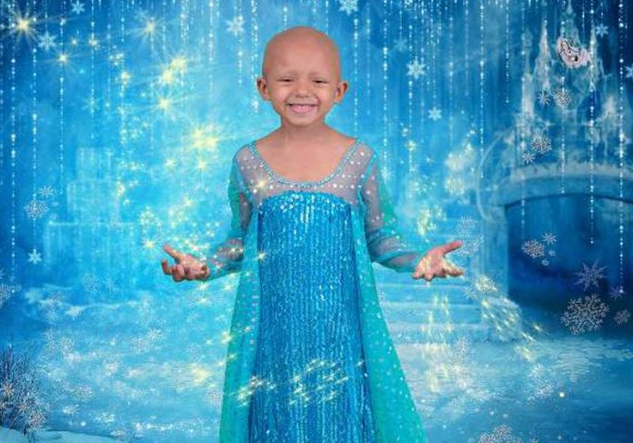Arianna como Elsa, de Frozen - Foto: Ashley Richer