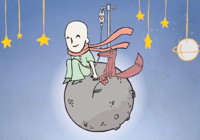 Pequeno Príncipe careca - Arte: Arisson Tavares