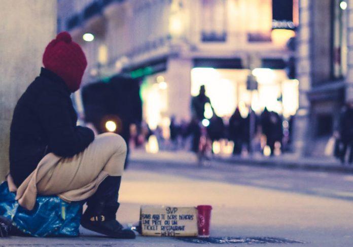 Morador em situação de rua - Foto: EV