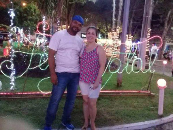 Jailton e a esposa antes da doença - Foto: arquivo pessoal
