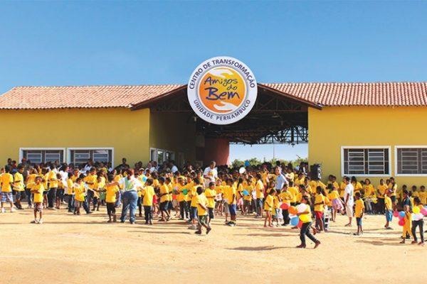 Escola do Amigos do Bem - Foto: divulgação