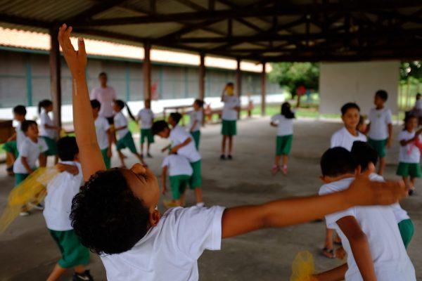 Alegria das crianças - Foto: divulgação