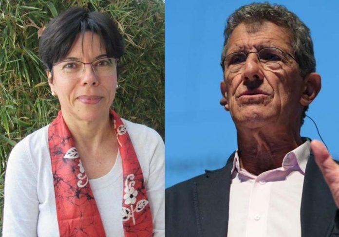 Mercedes Bustamante / UnB e Carlos Monteiro / USP, brasileiros mais citados no Web of Science- Fotos: Reprodução