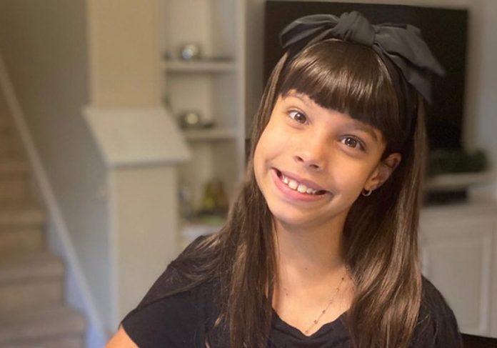 Bruna, 9 anos, entrou para a MENSA - Foto: arquivo pessoal