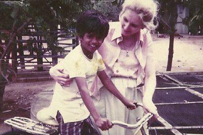 Sash com a mãe Sandra - Foto: reprodução / NYT