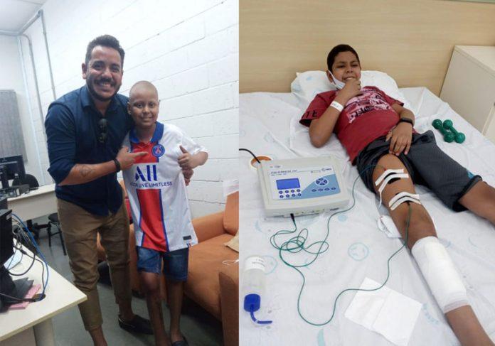 Jorge Alves e Gabriel Augusto - Fotos: arquivo pessoal