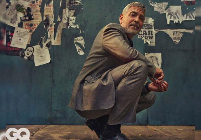 George Clooney na GQ - Foto: reprodução / GQ