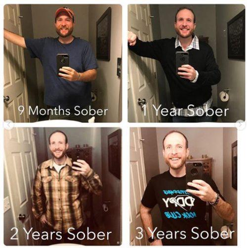 3 anos de transformação - Fotos: Instagram
