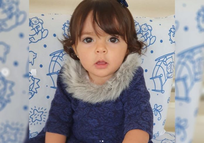 Kyara Lis, 1 ano e 3 meses - Foto: reprodução / Instagram