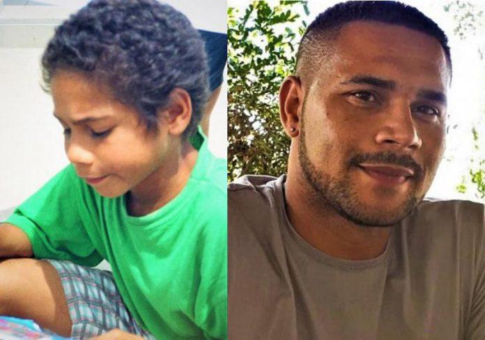 Antonio Carlos com 14 anos e agora - Fotos: divulgação