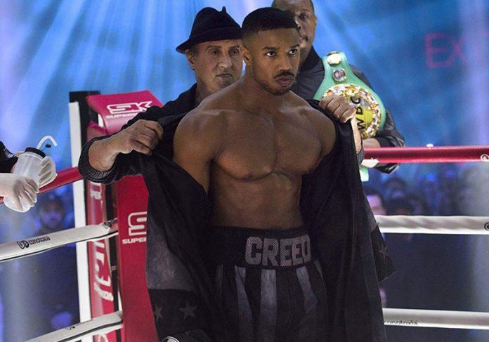 Sylvester Stallone e Michael B. Jordan em Creed II - Foto: Divulgação