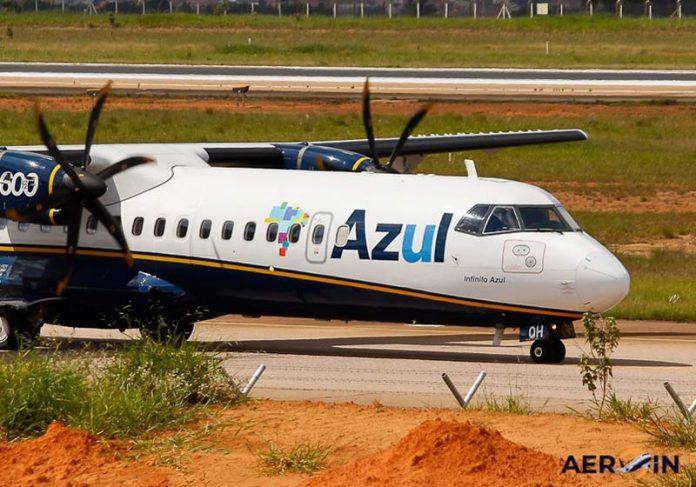 ATR 72-600 da Azul - Foto: reprodução / AEROIN