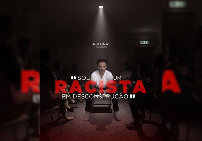 Rui Unas na campanha contra racismo - Foto: reprodução / Instagram
