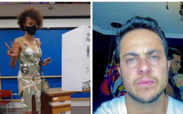 Erika e Thammy, vereadores eleitos em SP - Fotos: reprodução