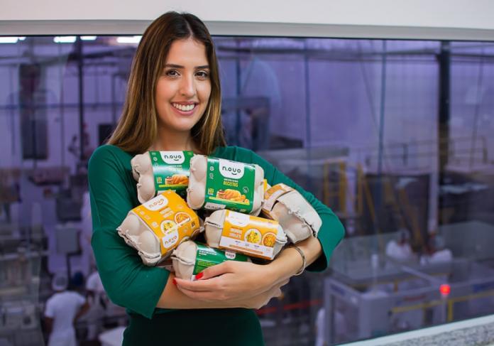 brasileira Amanda Pinto, que é founder e head do business do N.Ovo, | Foto: Divulgação
