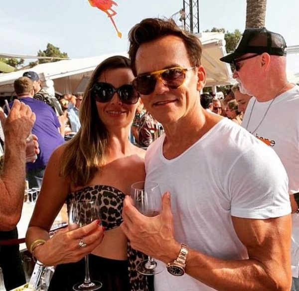 Matt e a esposa Jodie - Foto: Reprodução