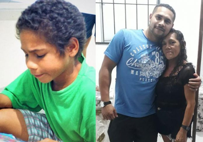 Antonio Carlos antes e agora com a mãe - Fotos: arquivo pessoal