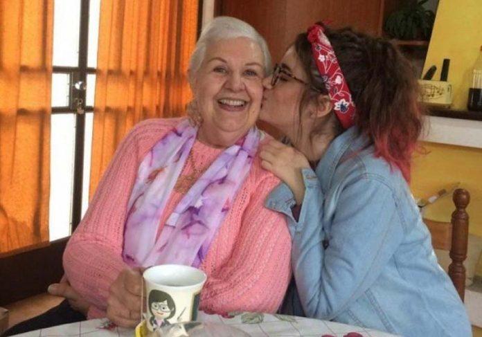 Edicleia e a neta Alice - Foto: arquivo pessoal