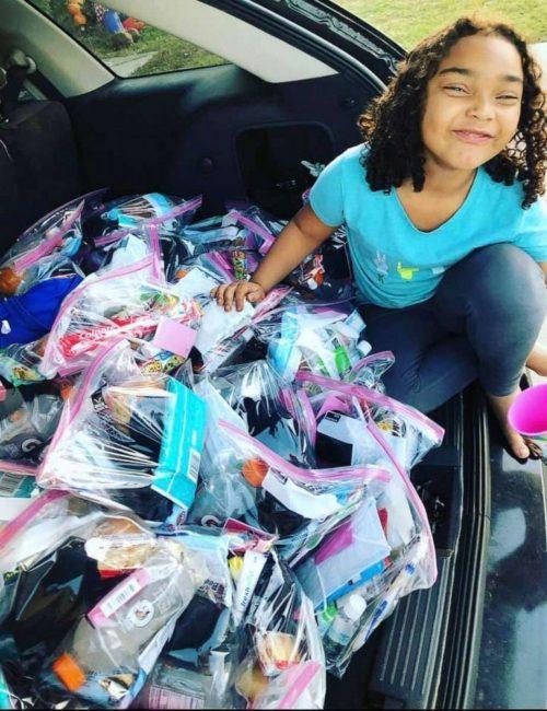 Bethany e as bolsas da felicidade - Foto: Colleen Moultry