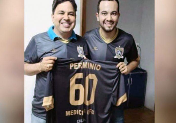 Professor Marcos e o médico Wallace - Foto: reprodução / TV Globo