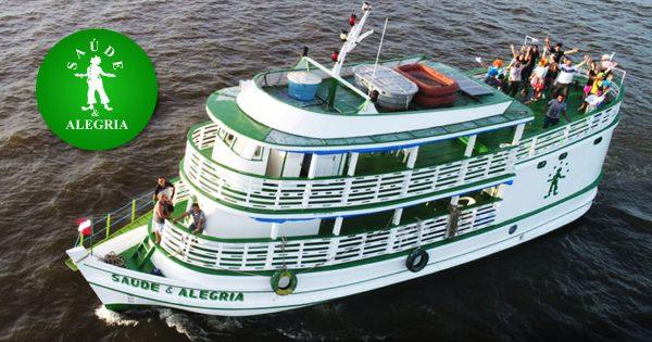 Barco do Saúde e Alegria - Foto: divulgação