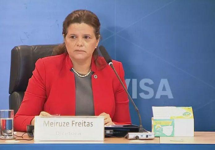 Diretora da Anvisa, Meiruze Freitas - Foto: reprodução / TV Brasil