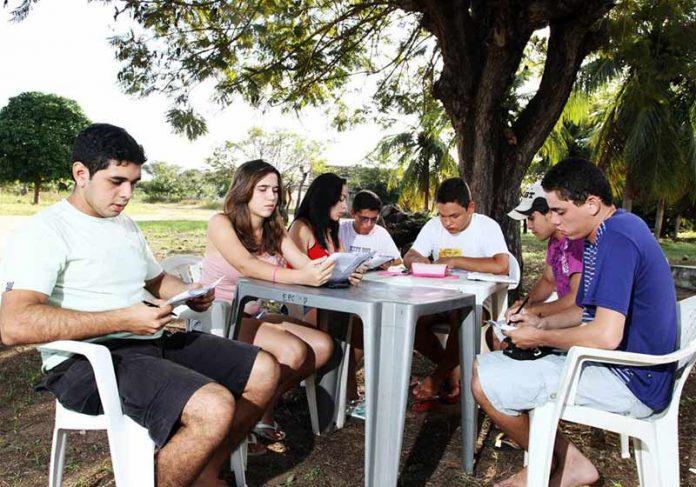Alunos do PRECE - Foto: divulgação