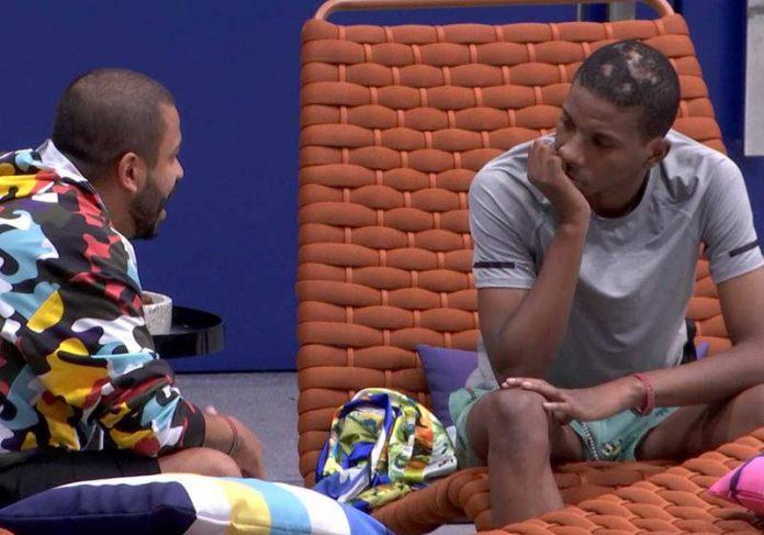 Projota conversa com Lucas Penteado - Foto: reprodução / TV Globo