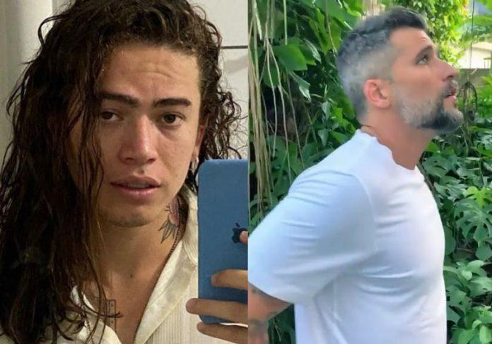Whinderssom Nunes e Bruno Gagliasso - Fotos: reproduçao / redes sociais