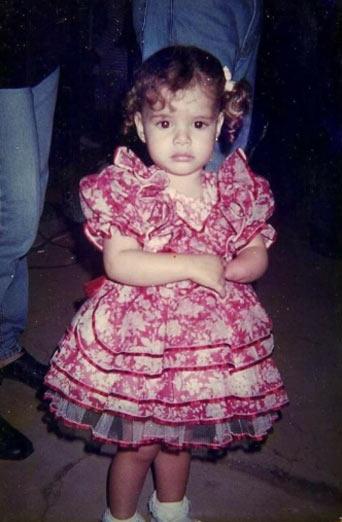 Danielle bebê - Foto: arquivo pessoal