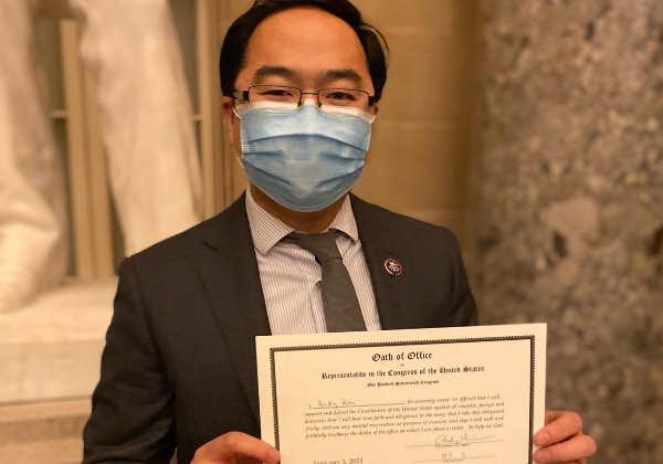 O deputado Andy Kim de NJ Foto: divulgação