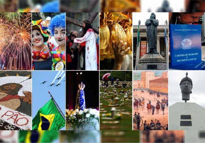 Feriados nacionais - Foto: montagem/Agência Brasil