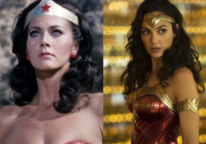 Lynda Carte e Gal Gadot como Mulher Maravilha - Fotos: Warner Bros / CBS / Divulgação