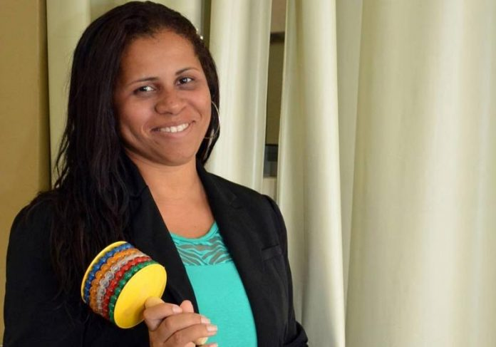 Professora Gisele criou método de alfabetização - Foto: divulgação