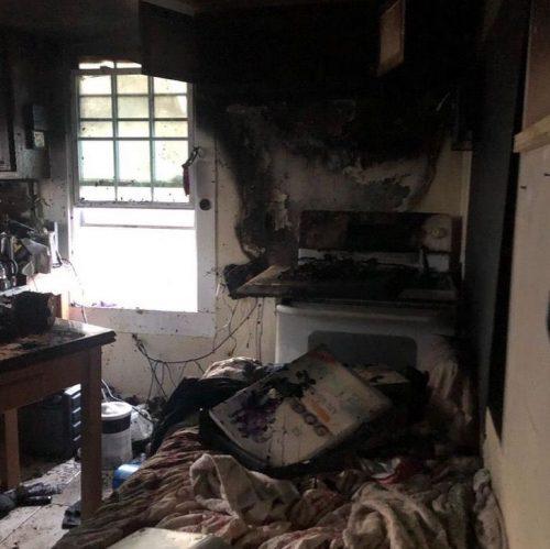 O incêndio - Foto: Gracie Hamlin / W-Underdogs