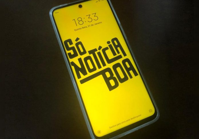 Só Notícia Boa no smartphone - Foto: SNB