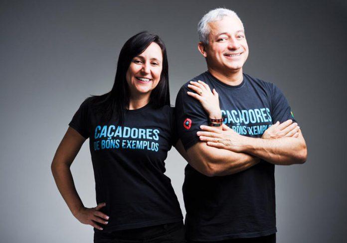 Iara e Eduardo, Caçadores de Bons Exemplos - Foto: divulgação