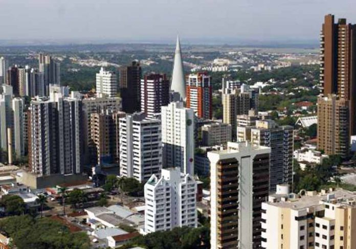 Vista aérea de Maringá / PR - Foto: divulgação