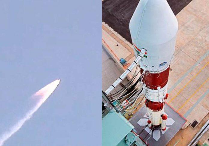 Lançamento do satélite brasileiro - Fotos: MCTI e ISRO