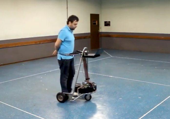 Cloud Walker, o andador inteligente - Foto: divulgacão