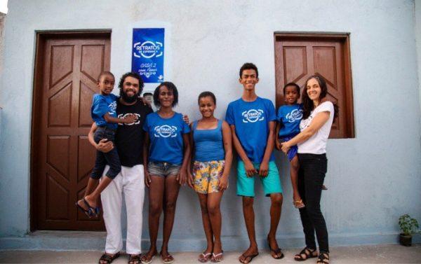 Casa nova de família do sertão da BA - Foto: Bismarck Araújo