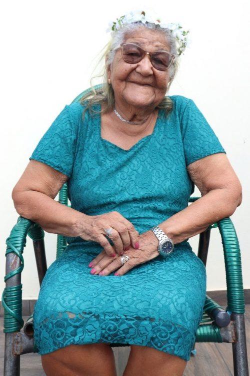 Dona Maria Cardoso - Foto: : Pâmela Cristina Matias Gomes/Arquivo pessoal