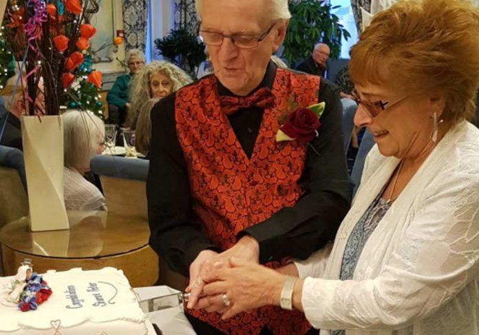 Casamento de Peter e Sharon - Foto: PA Real Life