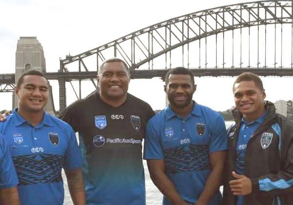 Os jogadores em Sydney Foto: reprodução