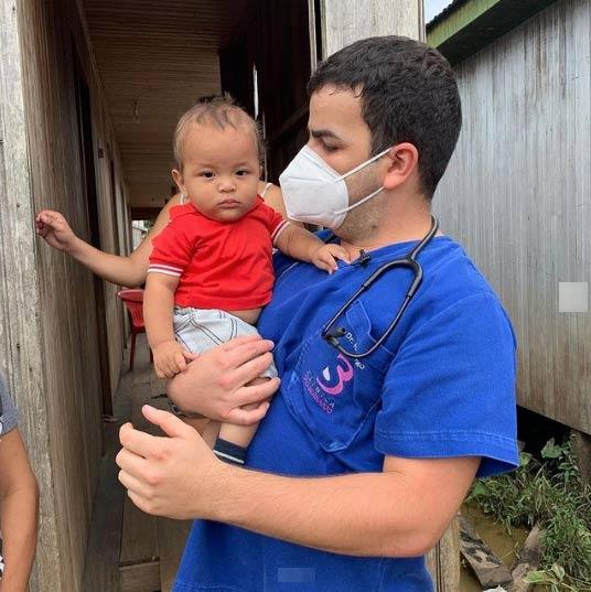 Dr. Rodrigo com Denis - Foto: Instagram