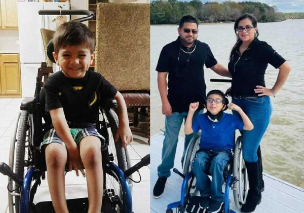 Michael Martinez e os pais - Fotos: NY Press