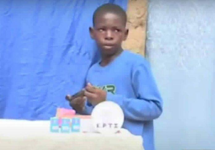 Roberto Mukeba, 12 anos - Foto: DR