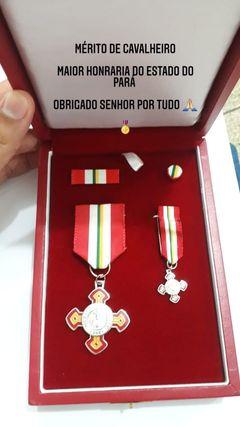 Medalhas que receberam do governo do Pará - Foto: arquivo pessoal